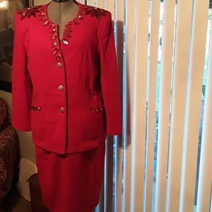 Olga Cassini  Sequined Holiday Suit 16